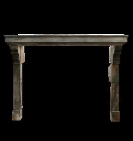 The Antique Fireplace Bank Gran Chimenea De Piedra Bicolor