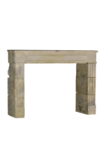 The Antique Fireplace Bank Classic And Rustic Limestone Fireplace Surround