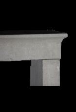 Französische Art Kalkstein Kamin Surround