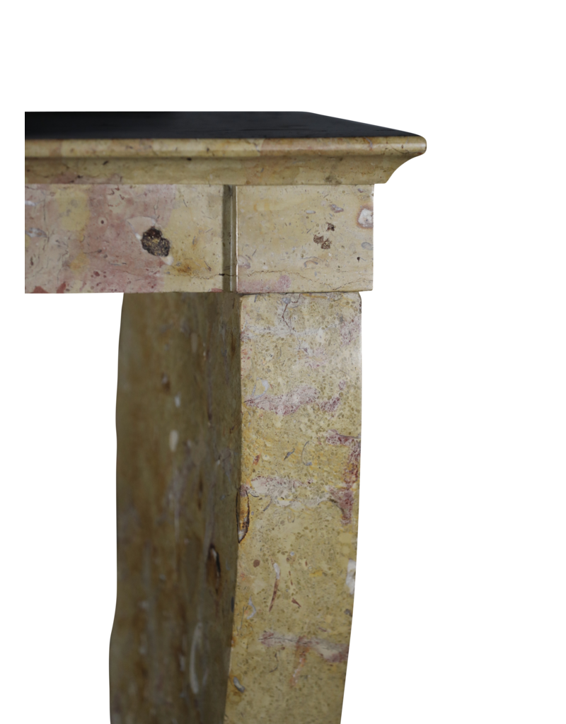 Bicolor Stone Vintage Kamin