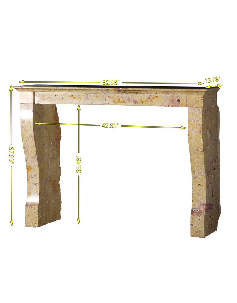 The Antique Fireplace Bank Bicolor Stone Vintage Fireplace For Open Fire