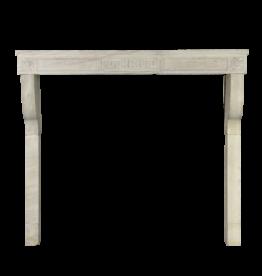 The Antique Fireplace Bank Elegante Gran Chimenea De Piedra Caliza Blanca