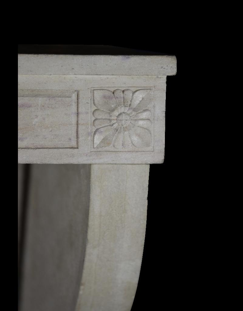 Maison Leon Van den Bogaert Antique Fireplaces & Vintage Architectural Elements Elegante Gran Chimenea De Piedra Caliza Blanca