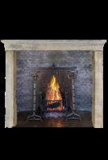 Maison Leon Van den Bogaert Antique Fireplaces & Vintage Architectural Elements Chimenea Rústica Y Fuerte De Piedra Bicolor