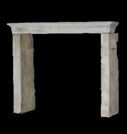 The Antique Fireplace Bank Rustikaler und starker zweifarbiger Kalksteinkamin