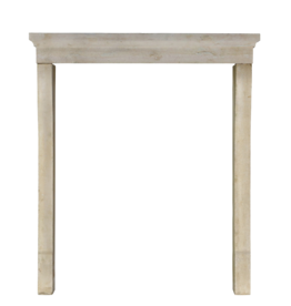 The Antique Fireplace Bank Elegant Limestone Fireplace