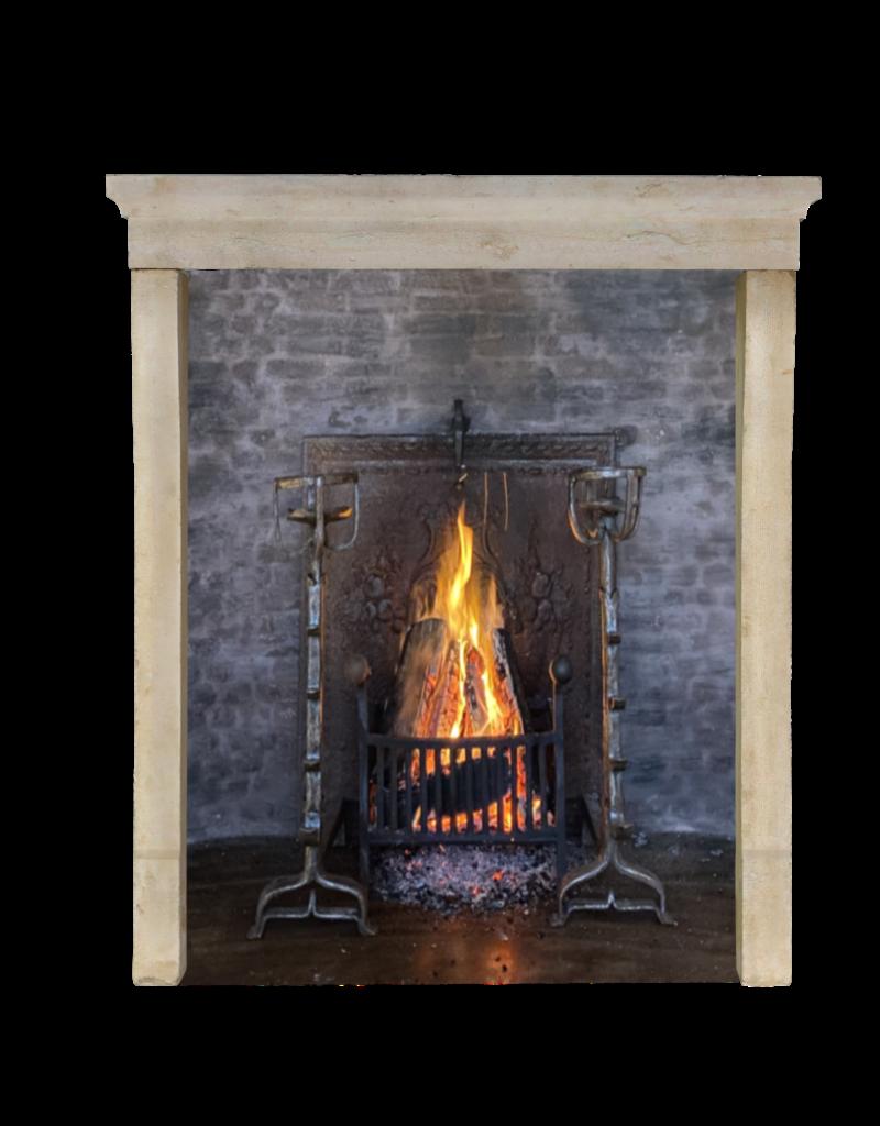 Maison Leon Van den Bogaert Antique Fireplaces & Vintage Architectural Elements Elegante Entorno De Chimenea De Piedra Caliza Francesa