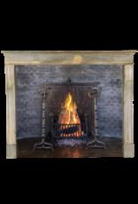 The Antique Fireplace Bank Grand Bicolor Französisch Kalkstein Kamin