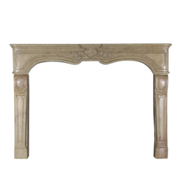 The Antique Fireplace Bank Große Steinkaminverkleidung