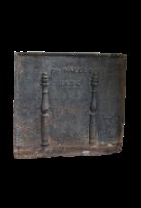 Antique Cast Iron Fire-Back