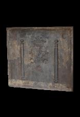 Antiker gusseiserner Fire-Back