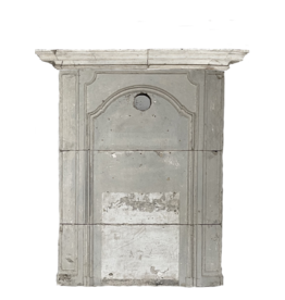 The Antique Fireplace Bank Rustic Fireplace Element