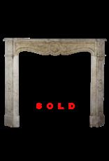The Antique Fireplace Bank Französisch Pompadour In Beige Marmor Für Französisch Stil Zimmer