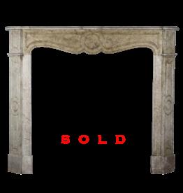 The Antique Fireplace Bank Pequeño Classic Francés Chimenea De Mármol De Sonido Envolvente