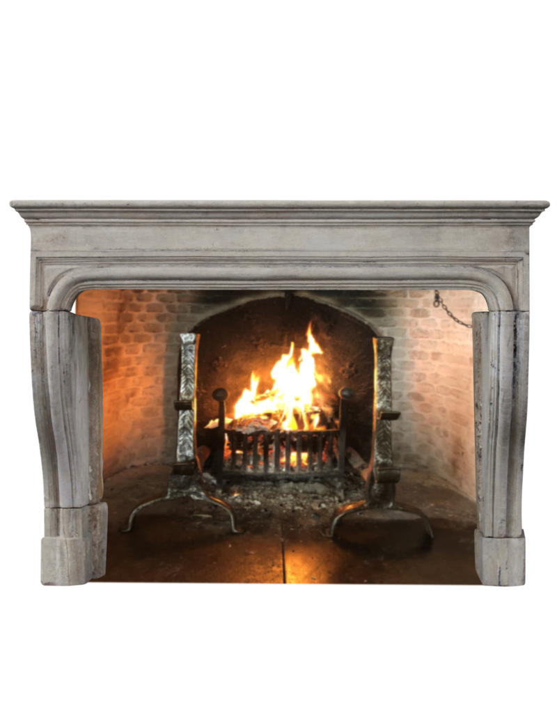 French 18Th Century Period Vintage Fireplace Surround
