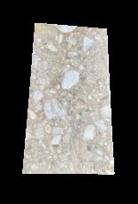 Antike Tischplatte Aus Royal Brêche Marmor