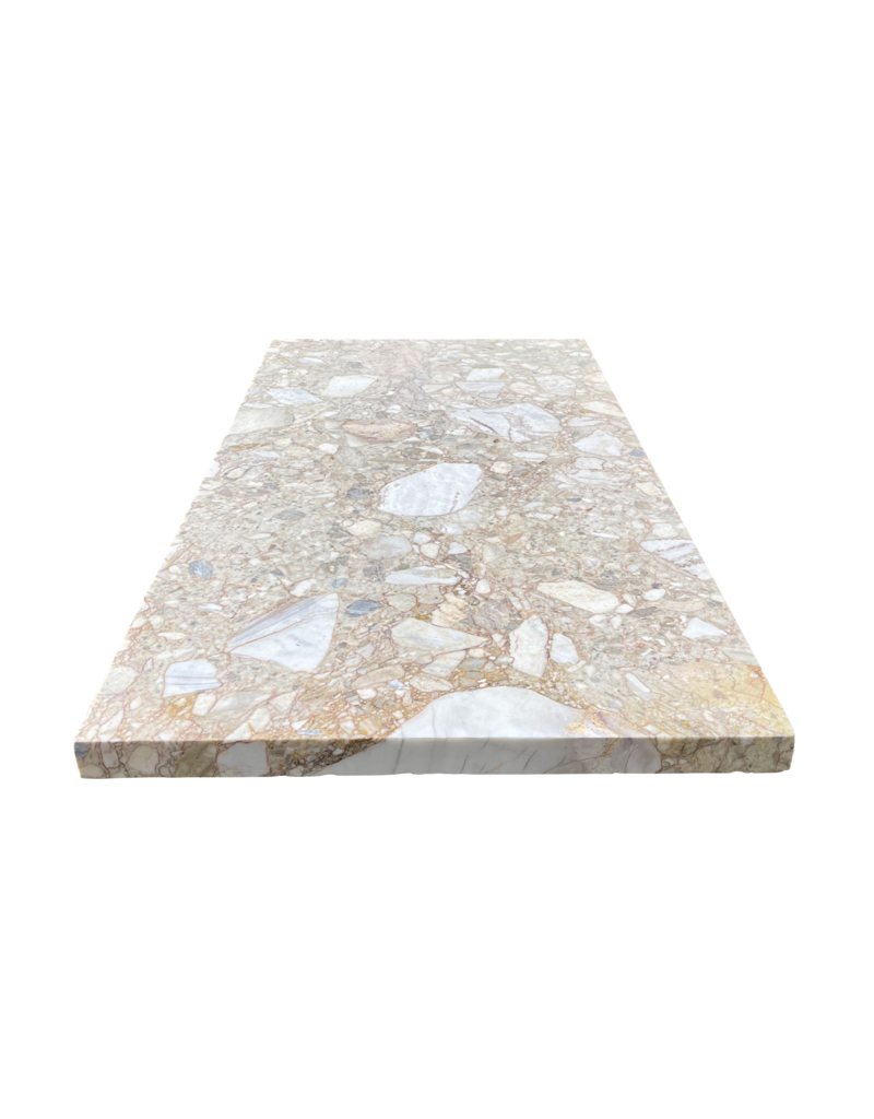 The Antique Fireplace Bank Antique Royal Brêche Marble  Coffee Table