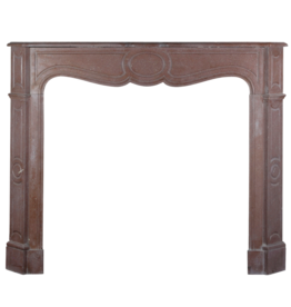 The Antique Fireplace Bank French Pompadour Style