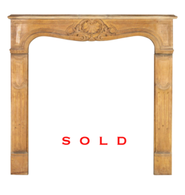 The Antique Fireplace Bank Small Wooden Surround