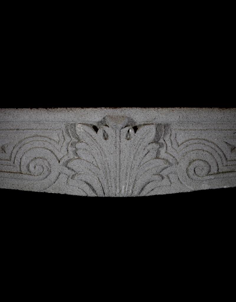 The Antique Fireplace Bank Eleganter Französischer Rustikaler Kamin In Lavastein