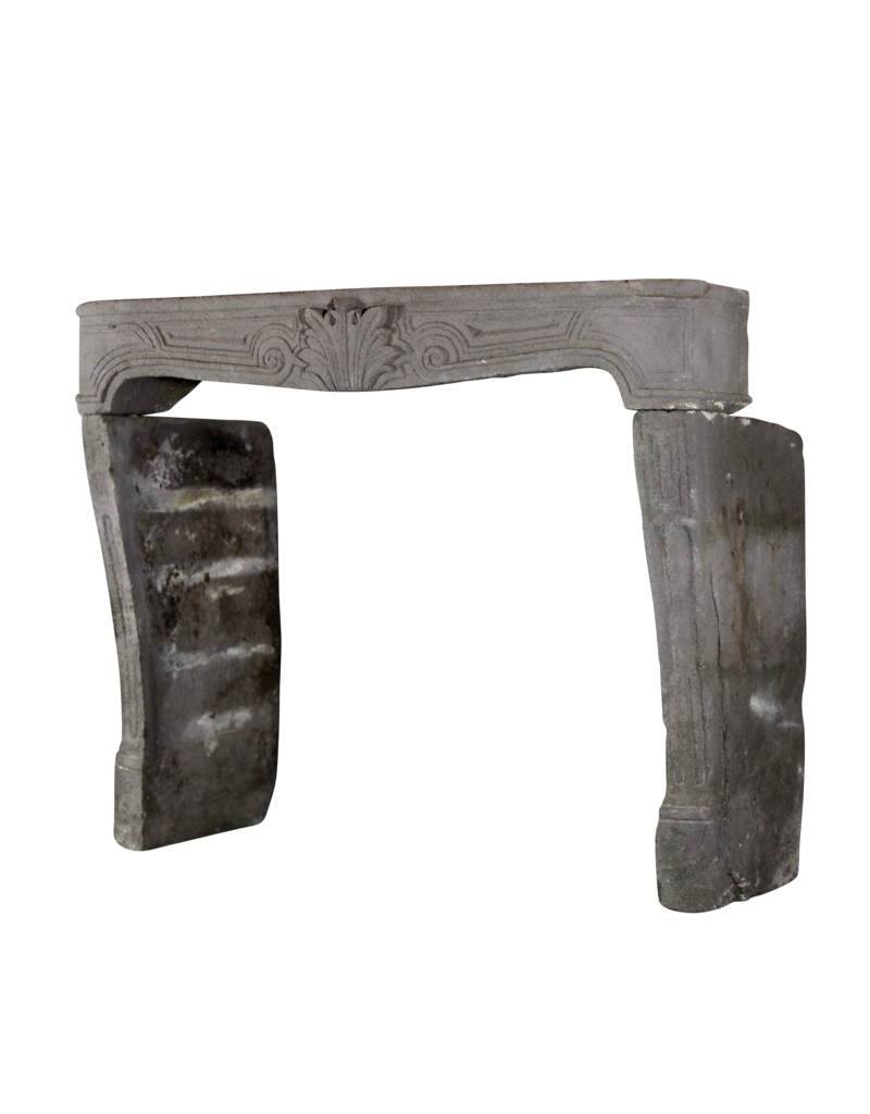 The Antique Fireplace Bank Elegant French Rustic Fireplace In Lava Stone