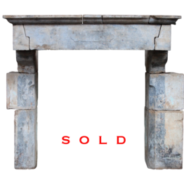The Antique Fireplace Bank 19Th Century French Castle Style Antique Fireplace Surround