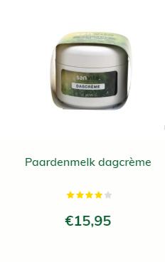 paardenmelk capsules met dagcrème