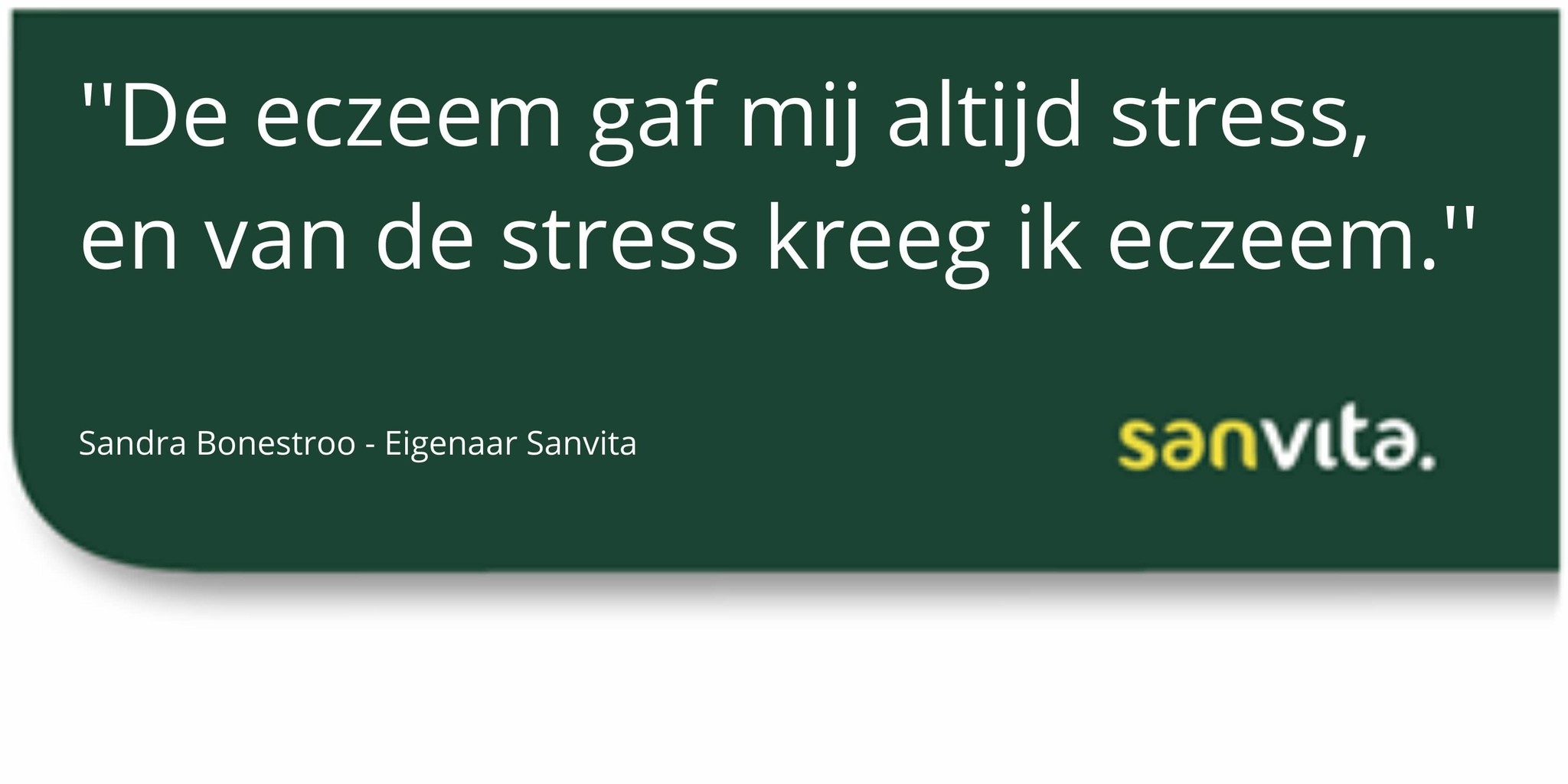 stress eczeem behandelen