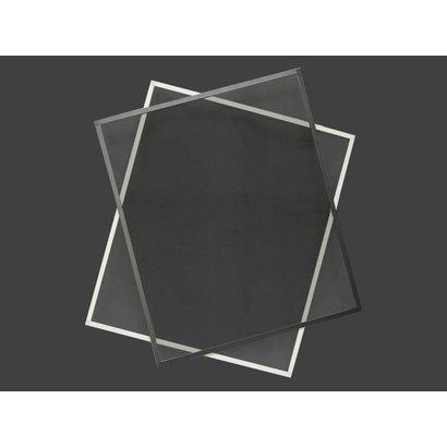Fliegengitter Fenster – 75 x 75 cm, weiß oder braun