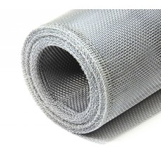 Aluminiumgewebe 0,80 x 12,5 m Alugewebe Draht als Fliegengitter Gewebe Insektenschutz