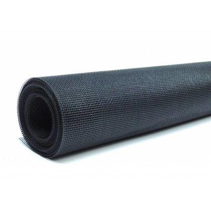 Fliegengitter Rollenware aus Fiberglas schwarz, 1,2 x 4,0 m