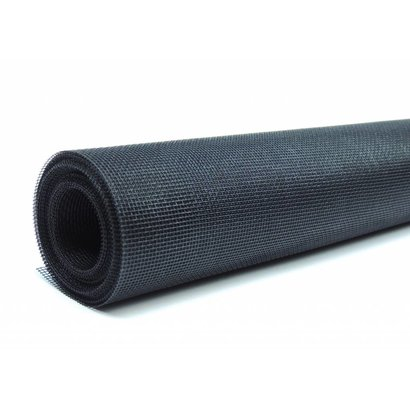 Fliegengitter Rollenware aus Fiberglas schwarz, 1,5 x 4,0 m