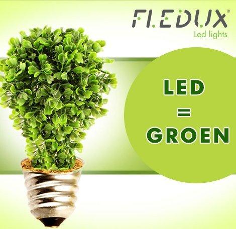 LED IS GROEN