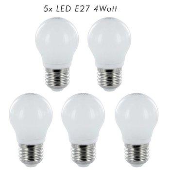 FLEDUX LED Lamp E27 4Watt 350 Lumen - 5 STUKS