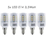 FLEDUX Fledux LED Lamp E14 3.5Watt 240 Lumen - 5 STUKS