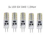 FLEDUX Fledux LED Lamp G4 1.5Watt 100 Lumen - 5 STUKS