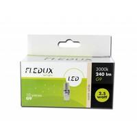FLEDUX Fledux LED Lamp G9 2.5Watt 240 Lumen - 10 STUKS