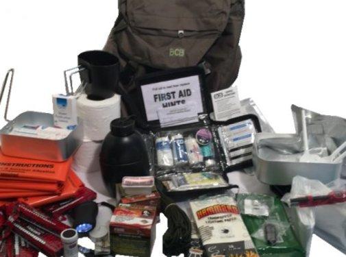 BCB Adventure BCB - Disaster Grab Bag - In 25L Rugzak