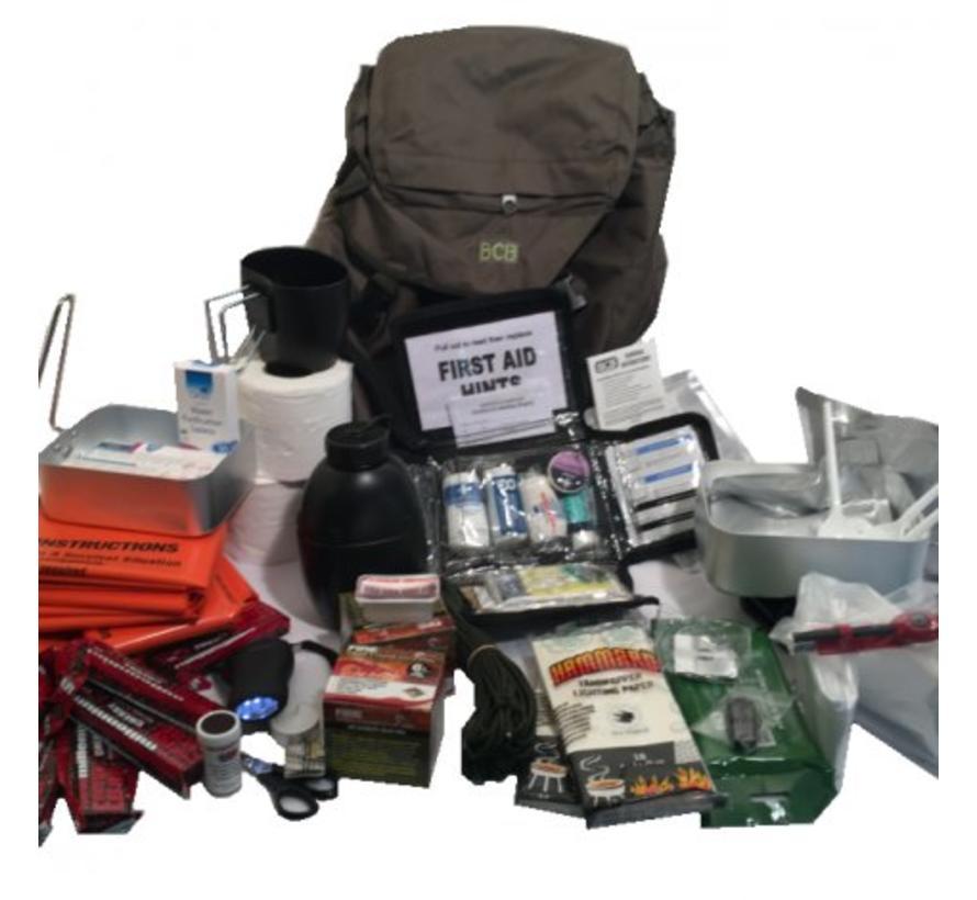 BCB - Disaster Grab Bag - In 25L Rugzak