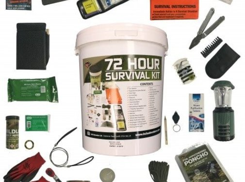 BCB Adventure BCB - 72 Hours Complete Home Survival Kit - In Bucket