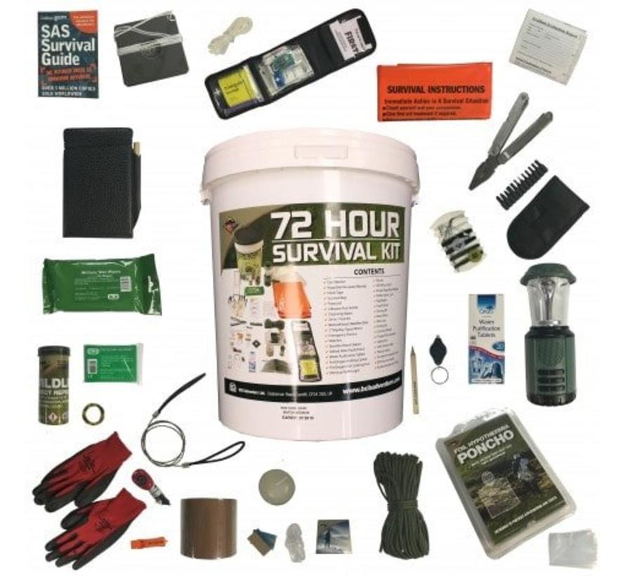 BCB - 72 Hours Complete Home Survival Kit - In Bucket