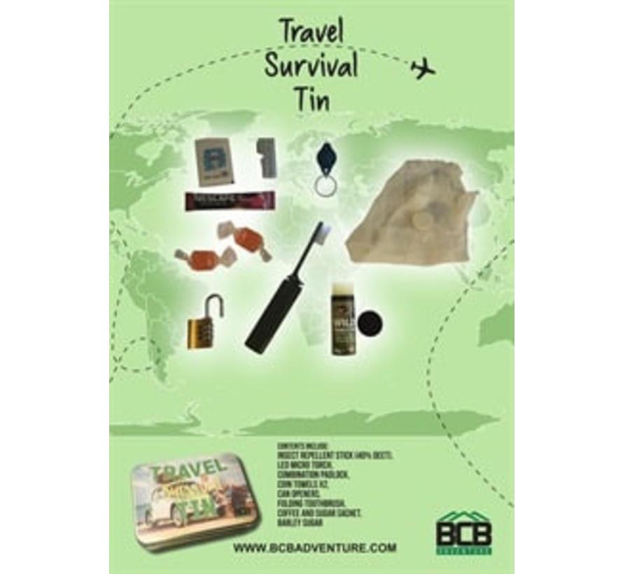 BCB - Survival Kit voor Onderweg - Met Hangslot