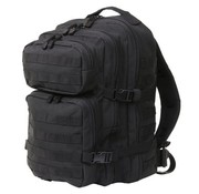 101inc Fosco Mountain Backpack - 45L - Black - 4 Compartments