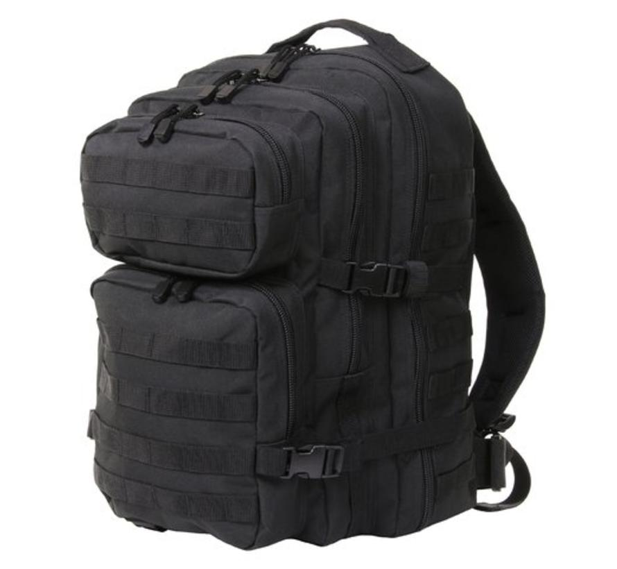 Fosco Mountain Backpack - 45L - Black - 4 Compartments