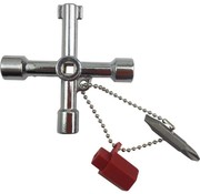 BonQ BonQ Universal Key - 6 in 1 - Crosshead