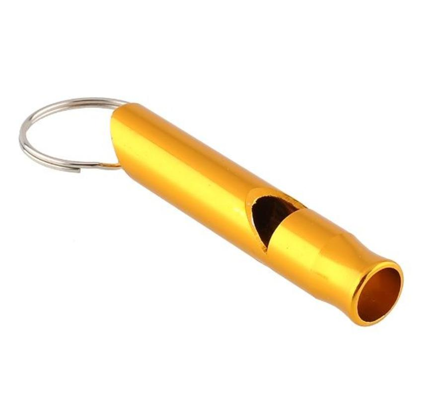 BonQ Emergency Flute - Aluminum - With Keyring