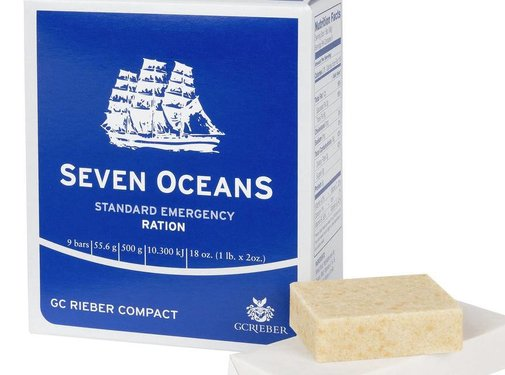 GC Rieber Compact Seven Oceans Emergency Ration - 500 Grams - 2500 Calories