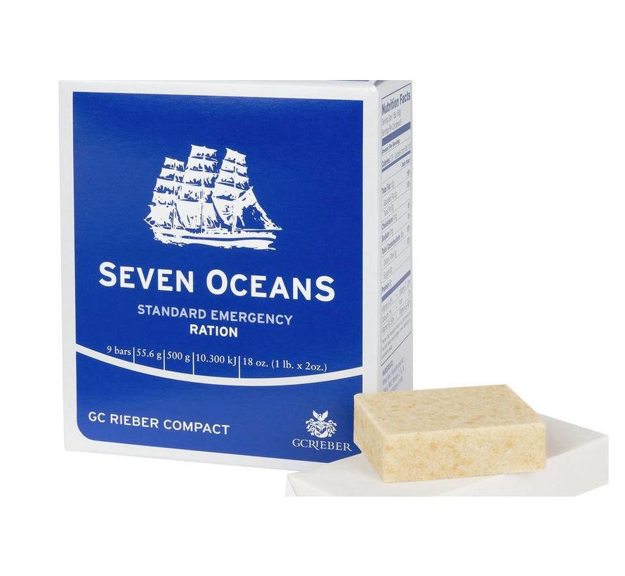 Seven Oceans Emergency Ration - 500 Grams - 2500 Calories
