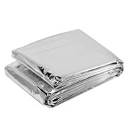 BonQ BonQ Emergency Blanket - Silver - 130x210