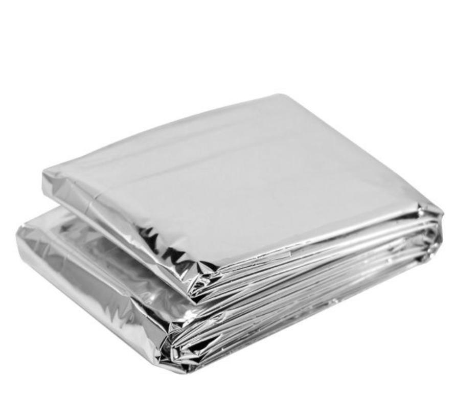 BonQ Emergency Blanket - Silver - 130x210